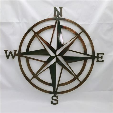 Nautical Home Decor Wholesale by Compass Rose Nautical Metal Wall Art