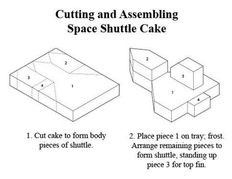 space shuttle cake recipe rocket cake space shuttle