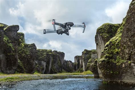 Is In The Air by Dji S New Mavic Pro Platinum Is Quieter And Stays In The