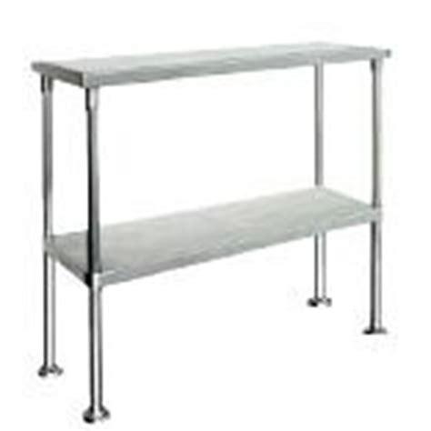 bench over kss s steel double over bench shelf 1500mm