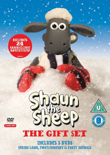 Dvd Shaun The Sheep Season 3 Complete Series shaun the sheep series 1 3 box set dvd zavvi