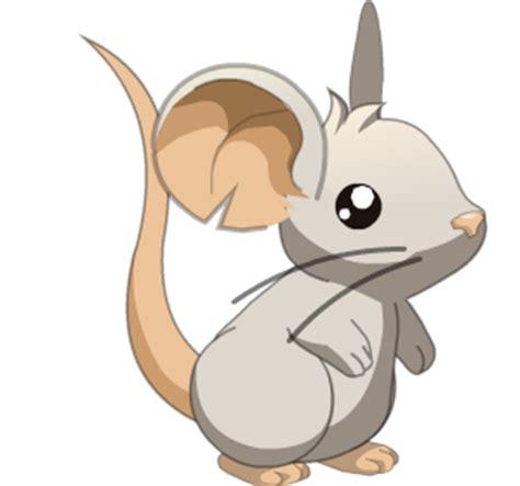 imagenes de ratones kawaii imagen color blanco png transformice wiki