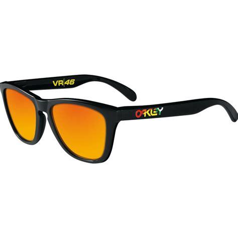 Oakley Sunglass Frogskins Vr46 Oo 24 325 Polished Black Oakley Valentino Frogskins Polished Black 24 325