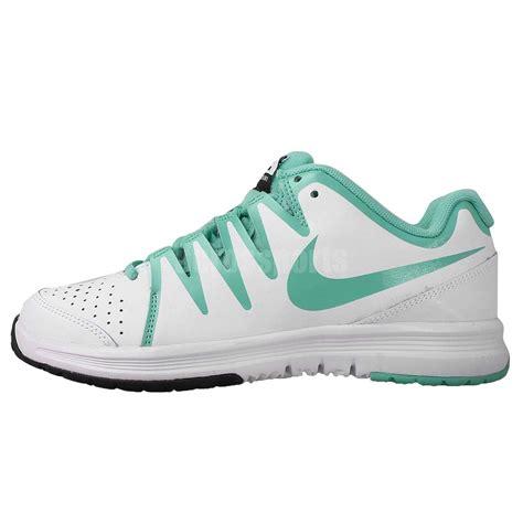 nike wmns vapor court white green 2014 womens tennis shoes