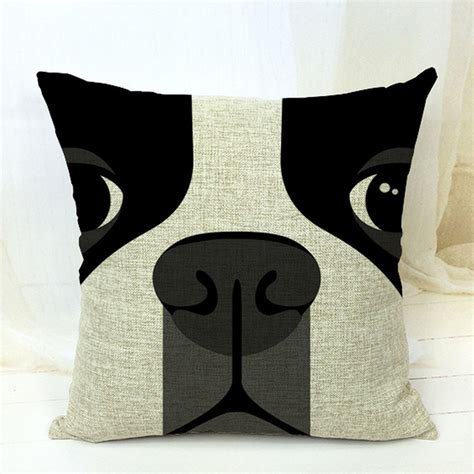 Almofada Futon 45x45 by Free Shipping Boston Terrier Decorative Throw Pillows