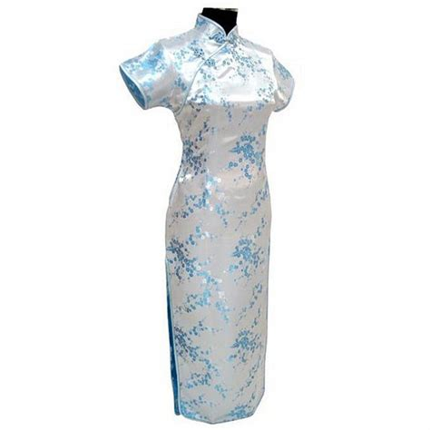 Big Size Light Blue Dress M 6xl light blue traditional dress satin