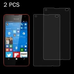 Microsoft Lumia 550 By Imak Soft Explosion Proof Tempglass sunsky 2 pcs for microsoft lumia 550 0 26mm 9h surface hardness 2 5d explosion proof tempered