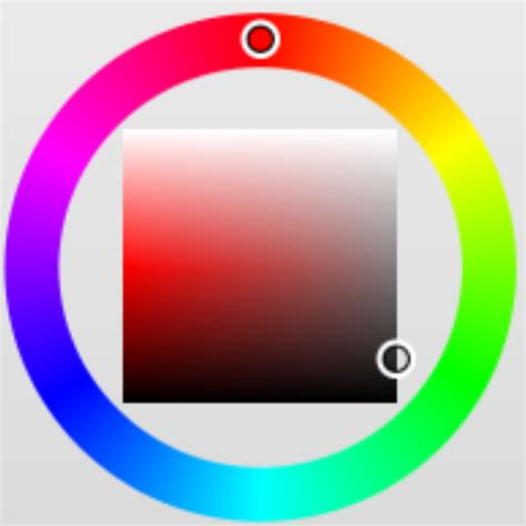 rgb color picker javascript generating a canvas color picker with