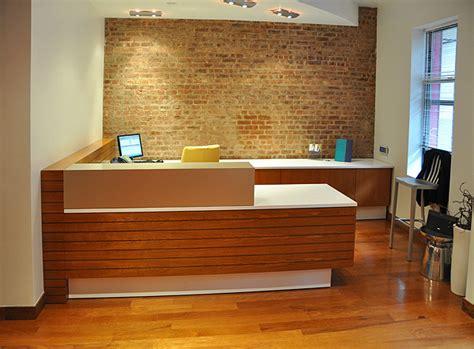 Custom Reception Desk Arnold Reception Desks Inc Custom Anglo Bank New York