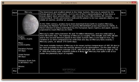 solar system requirements solar system 4d