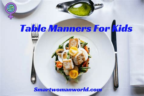 table manners for table manners for top 10 table manners that your