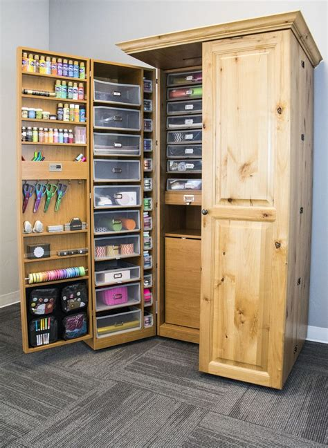 Craft Storage Armoire by 17 Best Ideas About Craft Armoire On Craft