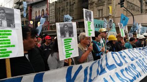 cooperativas argentina trabaja mayo 2016 aumento piqueteros exigen una suba del 35 en los montos de los