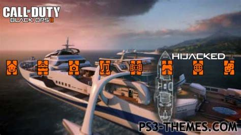themes ps3 black ops 2 ps3 themes 187 black ops ii multiplayer maps
