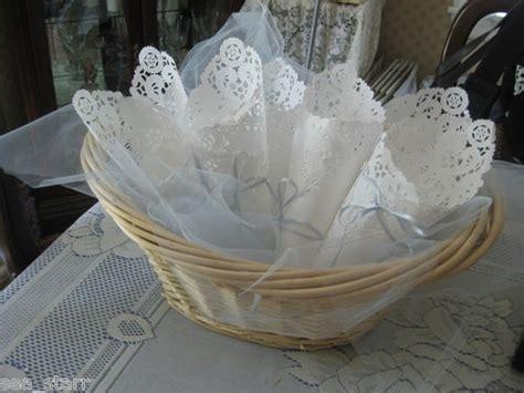 Paper Lace Doilies Crafts - 10 quot inch square white paper lace doilies craft usa lacy