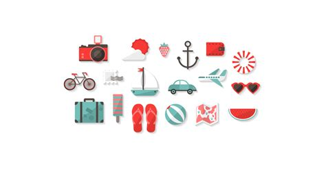 holiday icons  vector  png  graphic cave