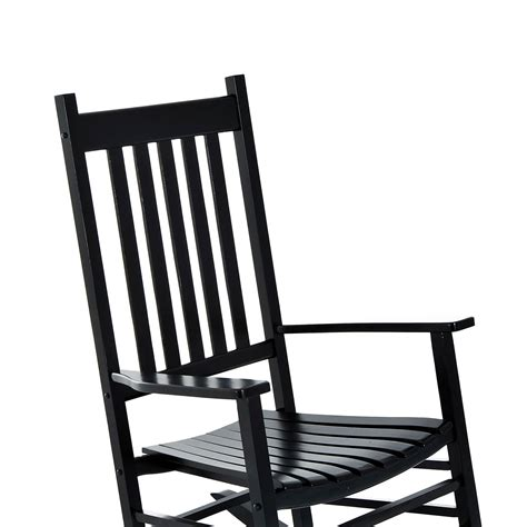 outsunny porch rocking chair outdoor patio wooden
