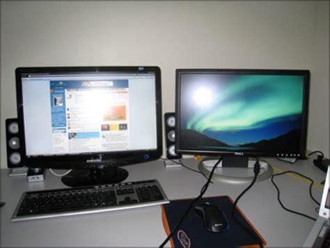 comment installer un ordinateur de bureau pc astuces utiliser deux 233 crans en m 234 me temps