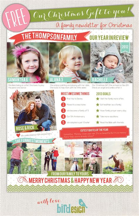 49 Free Christmas Letter Templates That You Ll Love Family Photography Email Templates