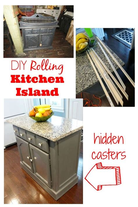 kitchen islands on casters 17 best ideas about kitchen island makeover on pinterest