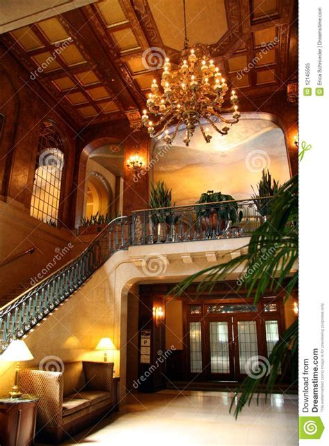 hotel lobby interior stock image image  fancy place