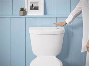 toilette flush this kit will equip your toilet with no touch flush