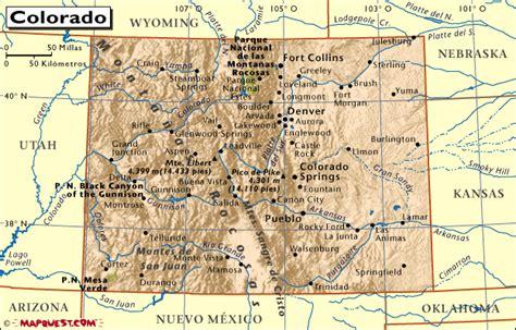 map of norte colorado hrw atlas mundial colorado