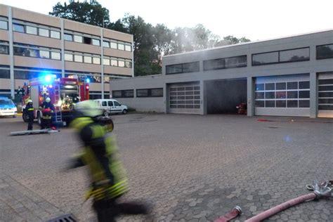 Werkstatt Nebelmaschine by Feuer In Werkstatt Alarm 252 Bung Feuerwehr Detmold