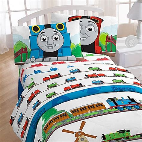 thomas the train bed set buy thomas the train printed character full sheet set from