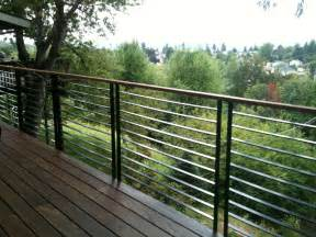 Handrail Cost Design For Metal Deck Railings Ideas 26054