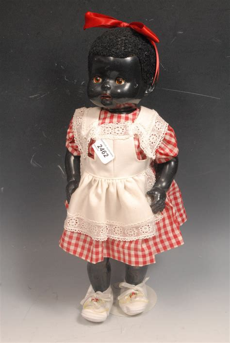 black doll 1950s lot 2462 a 1950 s pedigree toys black walking doll with
