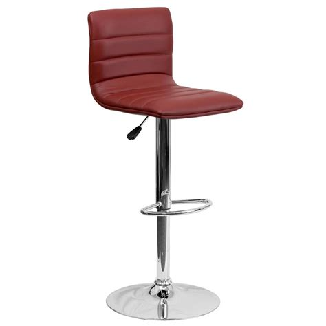 unique bar stools unique modern adjustable height metal bar stool swivel