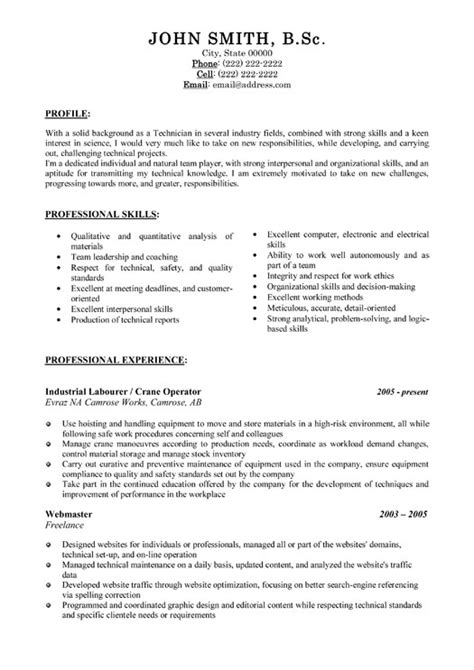 Resume Templates General Labourer Industrial Labourer Resume Template Premium Resume Sles Exle