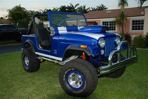 badass blue jeep bad cj7 1985 jeep cj7 s photo gallery at cardomain