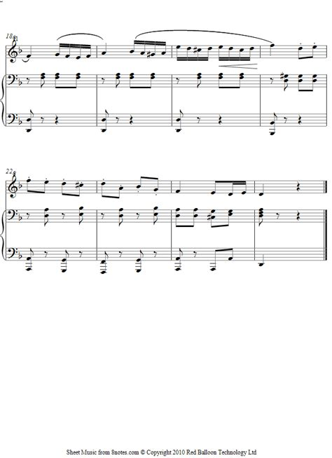 Piano Hit 101 Piano Soundtrack Not Balok Lagu Dunia Pilihan not balok mozart wolfgang amadeus turkish march sheet