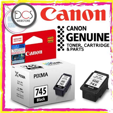 Tinta Canon Cartridge Pg 745 Tinta Black Original Dealer Resmi Can genuine canon pg 745 black end 2 25 2017 2 15 pm myt
