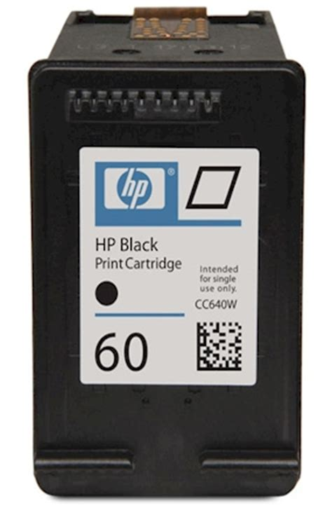Hp 60 Catridge Black hp 60 black hp 60 ink cartridge cc640wn refilled