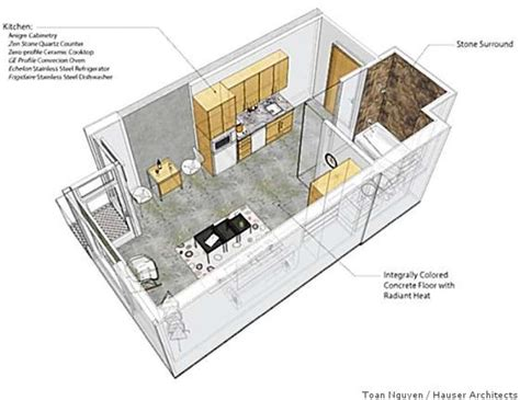 how big is 350 square feet home small home 250 square feet in soma sfgate