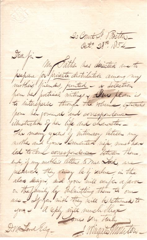 Of The Letter File 1854 1028 Jwttodwlord Letter Jpg Wikimedia Commons