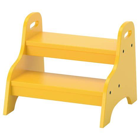 ikea step stool child trogen children s step stool yellow 40x38x33 cm ikea
