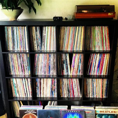 Vinyl Shelf by Taking Care Of Your Vinyl Record Collection Illbeatz