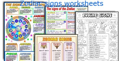 zodiac signs printable worksheets search results for lesson plans on zodiac signs