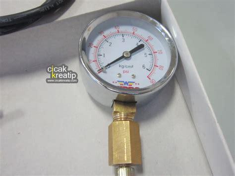Alat Tes Injeksi Motor alat ukur tekanan pompa injeksi cicak kreatip 3 cicakkreatip