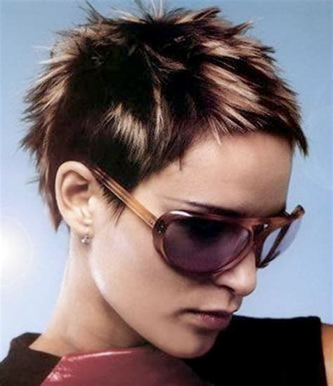spiky haircuts for spiky short hairstyles for women