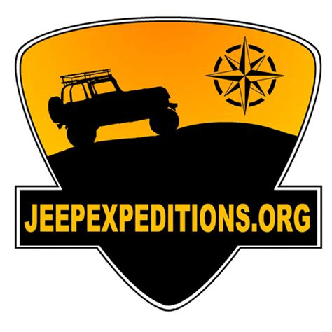 jeep adventure logo the jeep expeditions group exploration education