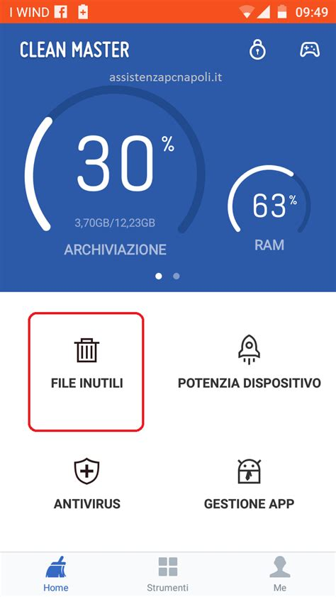 android clean master come velocizzare android con clean master assistenza pc napoli