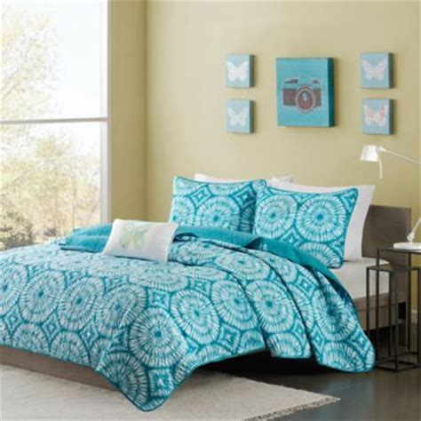 teal coverlet queen mizone nia full queen coverlet set in teal