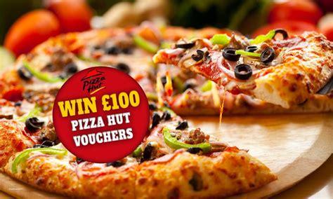 Win 100 Of Vouchers Catwalk 2 by Box Pizza Hut Inspirational Win 163 100 Pizza Hut