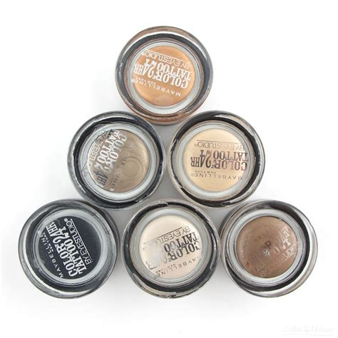 maybelline eyeshadow tattoo review indonesia maybelline spring 2014 color tattoo eyeshadow reviews and