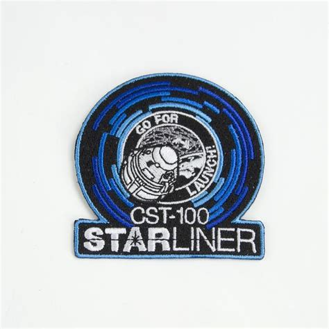 boeing challenge accepted cst  starliner patch